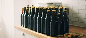 beer brewing bottles