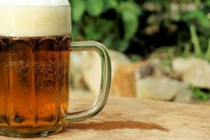 brewing beer mug