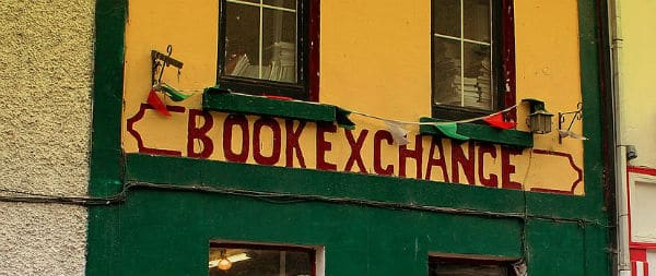 save money on textbooks at a book exchange