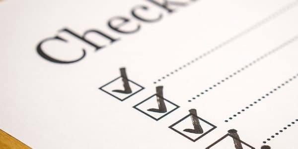 checklist for paid surveys