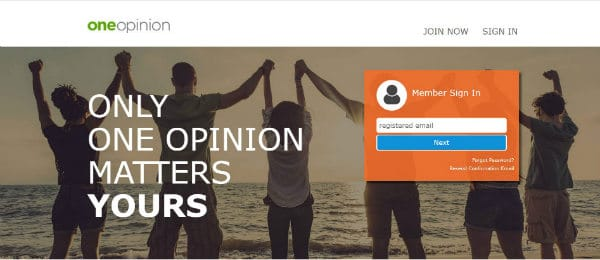oneopinion homepage