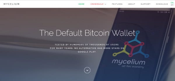 investing in Bitcoin with Mycelium